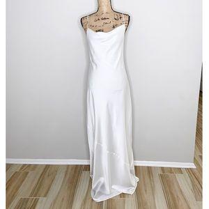 Show Me Your MuMu Tuscany Maxi Slip Dress Size M